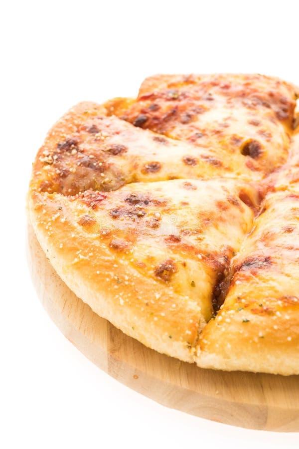 Pizza de queijo imagens de stock