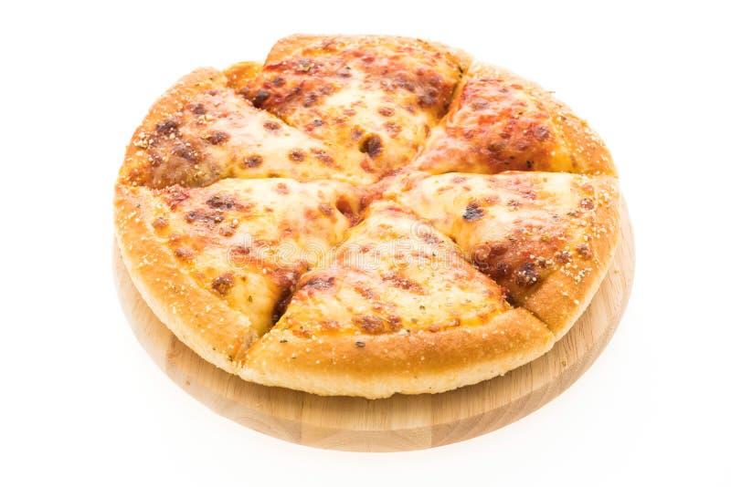 Pizza de queijo imagem de stock