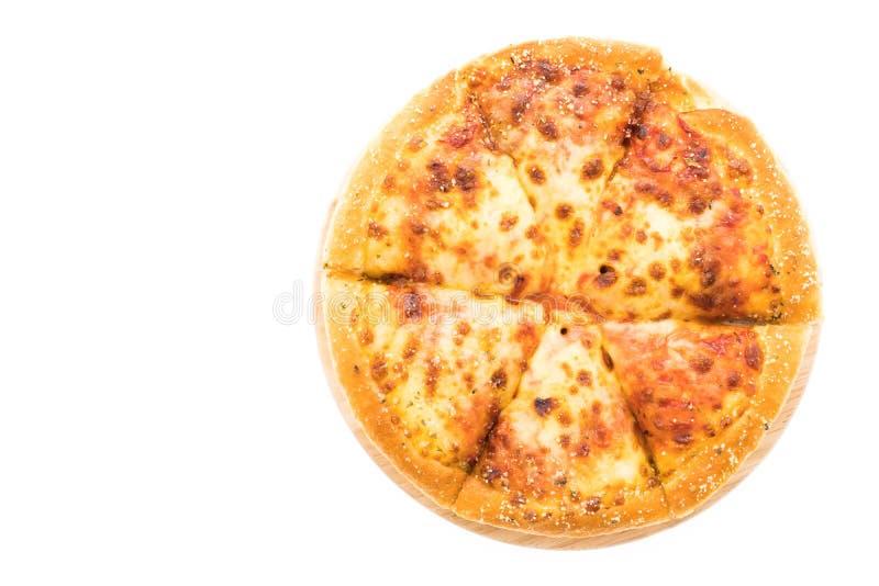 Pizza de queijo foto de stock royalty free