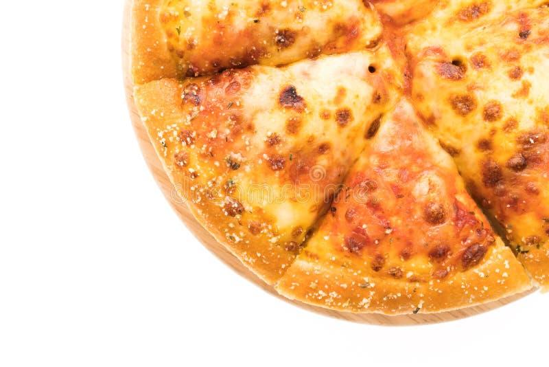 Pizza de queijo fotos de stock royalty free