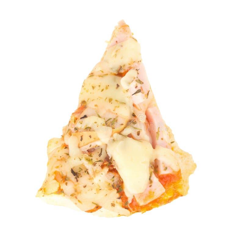 Pizza de pizza van de de moederkok van Thailand voor childern geïsoleerd op wit royalty-vrije stock foto's