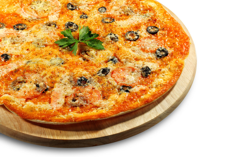 Download Pizza dei frutti di mare fotografia stock. Immagine di background - 7320156