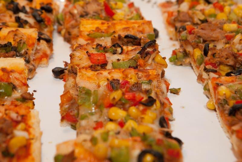 Pizza del vegetariano o del vegano foto de archivo libre de regalías