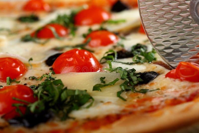 Pizza deliciosa imagem de stock
