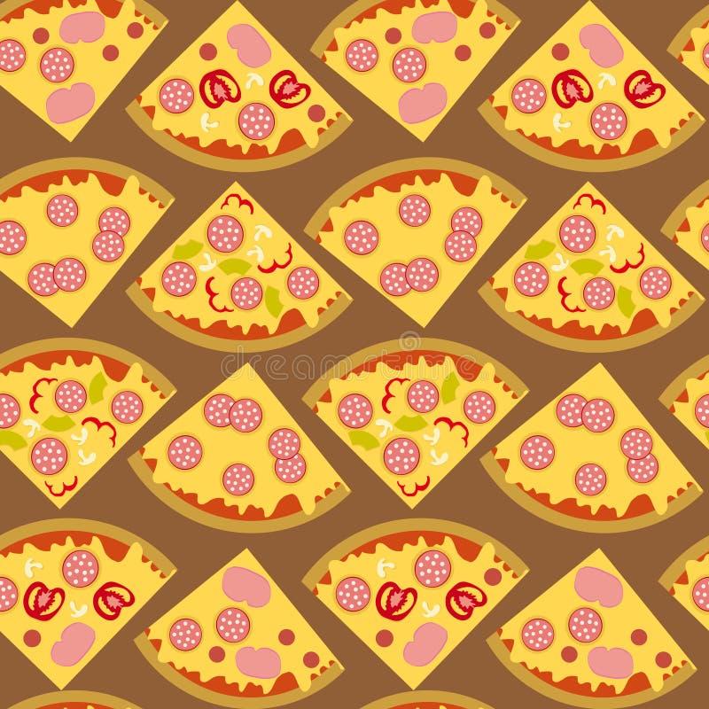 Pizza dell'alimento fotografia stock libera da diritti