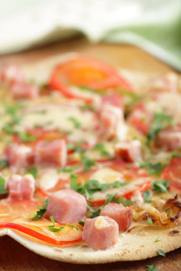 Pizza della tortiglia fotografie stock libere da diritti