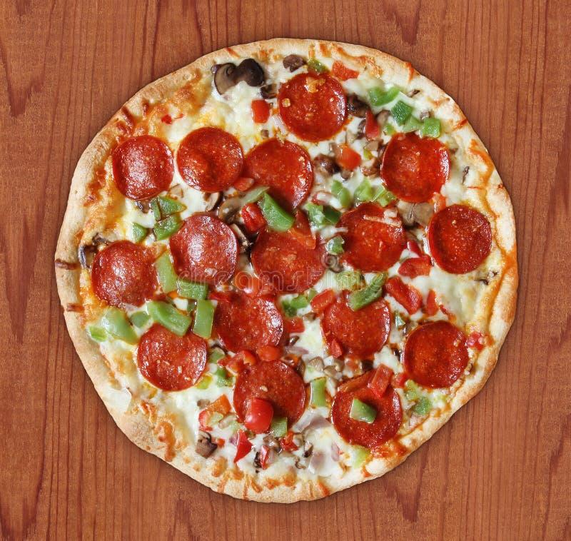 Pizza di lusso fotografia stock
