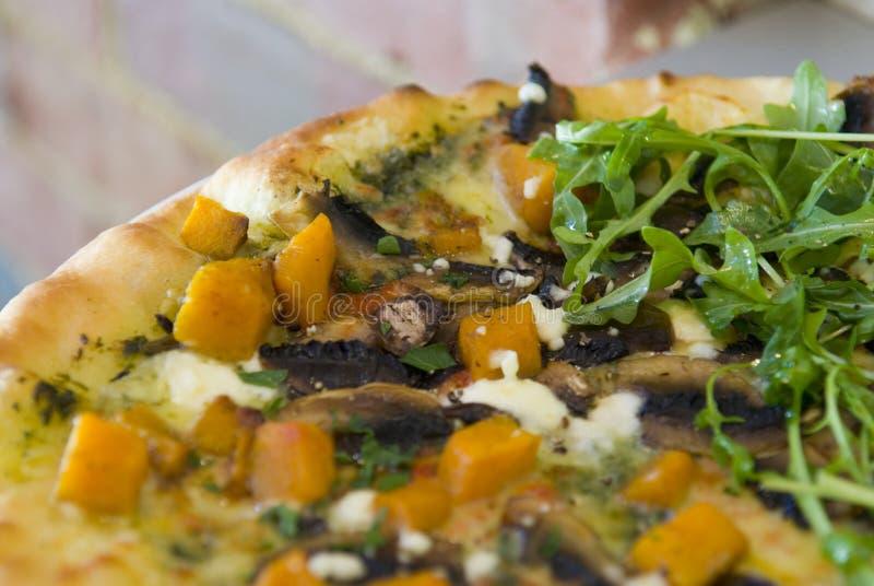 Pizza do gourmet fotografia de stock royalty free