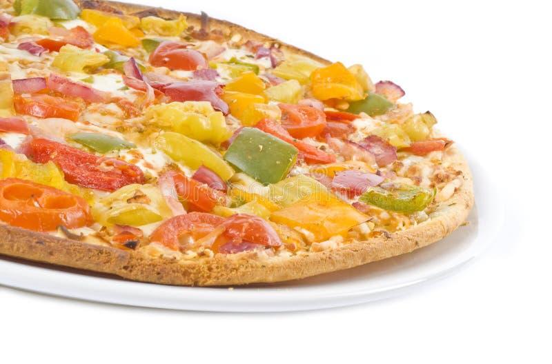Pizza do vegetariano foto de stock royalty free