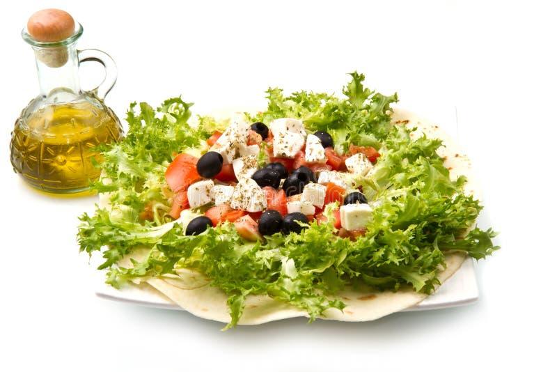 Pizza do vegetariano fotografia de stock