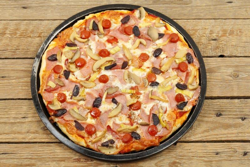 pizza domowej roboty fotografia royalty free