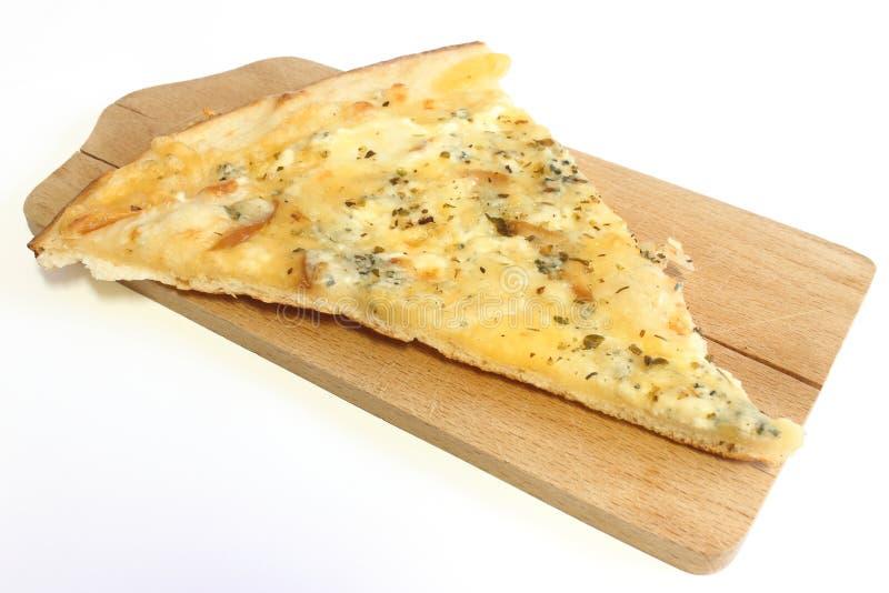 Pizza för ost fyra royaltyfri bild
