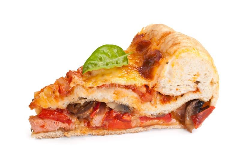 Pizza farcita piatto profondo di Chicago fotografia stock