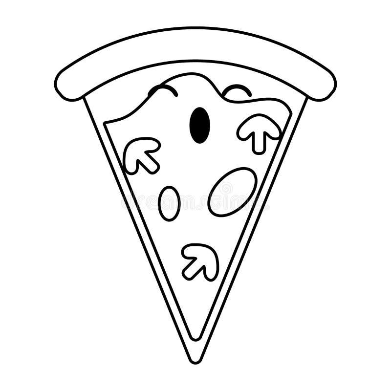 Pizza Kawaii Stock Illustrations 369 Pizza Kawaii Stock