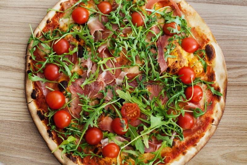Pizza fasta food Świeży Piec zdjęcie royalty free
