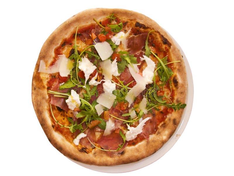 Pizza fraîche photo libre de droits