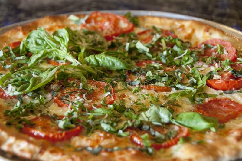 Pizza gastrónoma fotografía de archivo