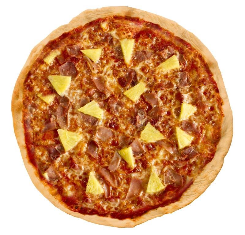 Pizza Hawaï stock afbeeldingen