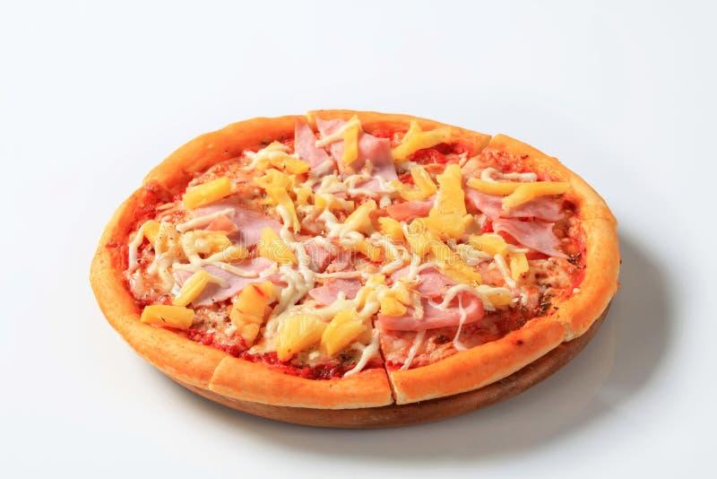 Pizza Hawaï royalty-vrije stock foto