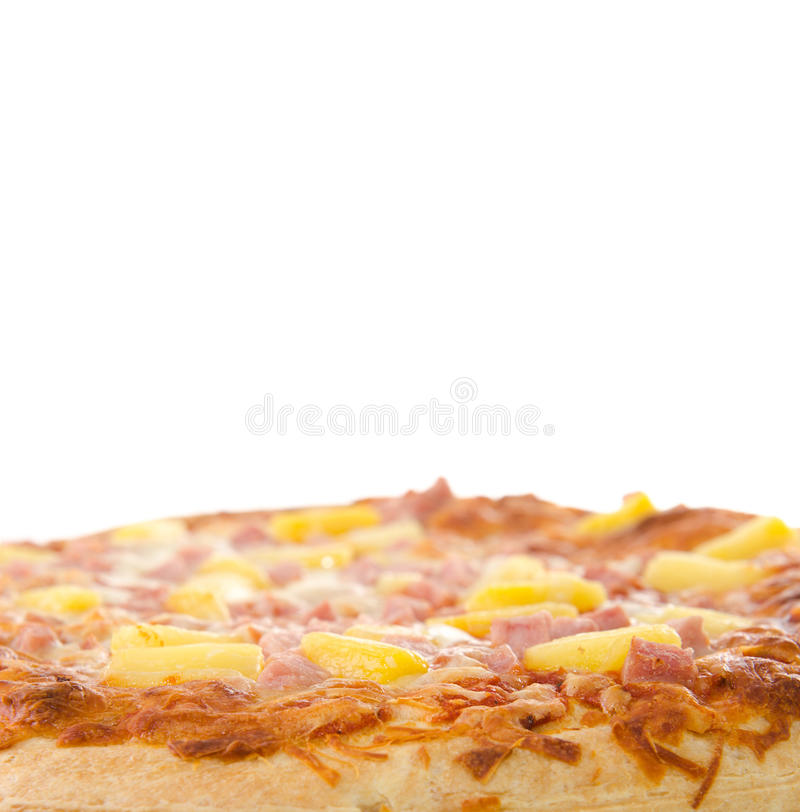 Pizza Hawaïenne Images libres de droits