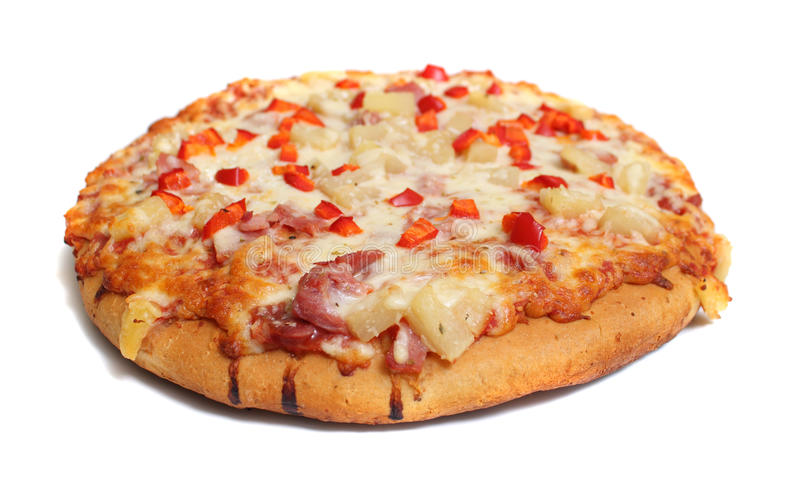 Pizza hawai royalty free stock images