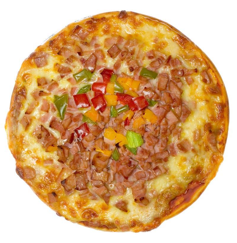 Pizza hawaiana fotografia stock libera da diritti