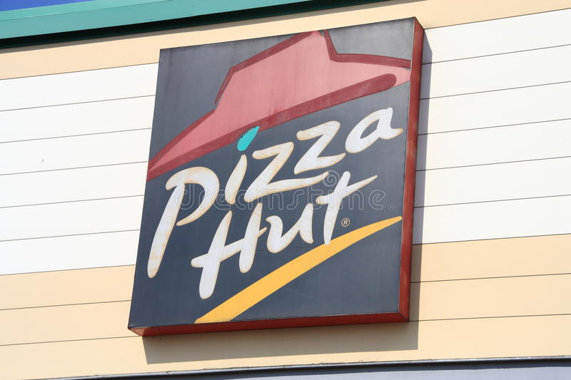Pizza Hut stockbild