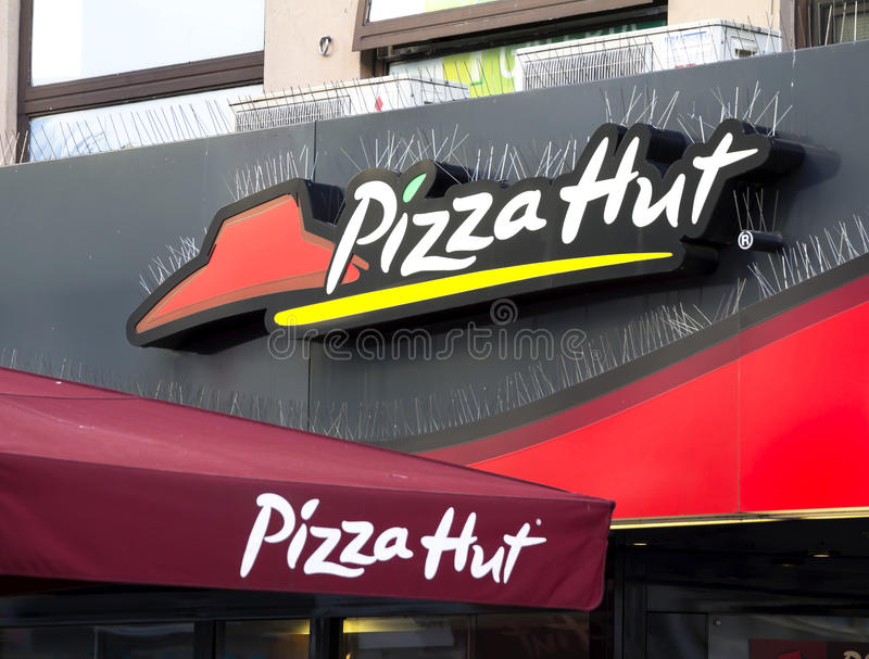 Pizza Hut stockfoto