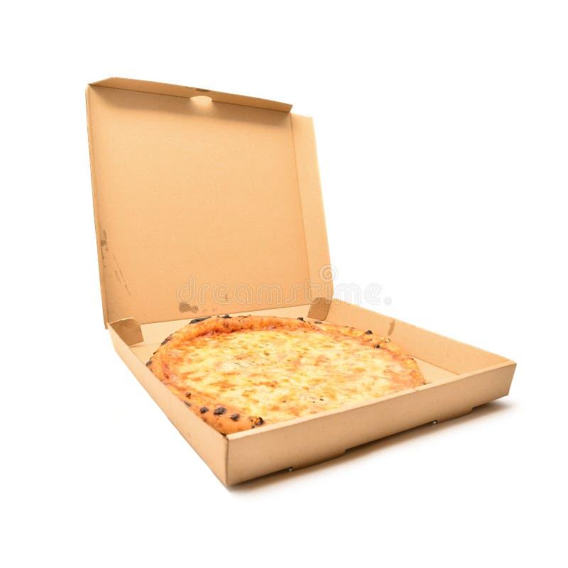 Pizza i asken royaltyfria foton