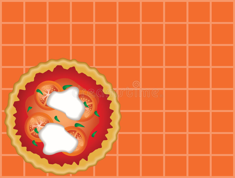 Download Pizza illustration stock vector. Illustration of tomato - 3798634