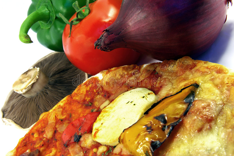 Download Pizza And Ingredients Close-up Stock Photo - Image: 7109012