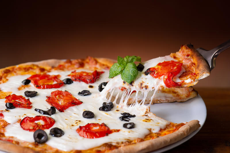 Pizza italiana foto de archivo