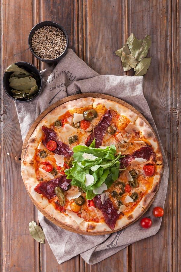 Pizza italiana imagens de stock