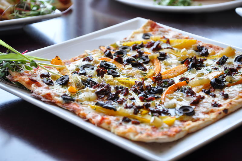 Pizza italiana fina foto de stock royalty free