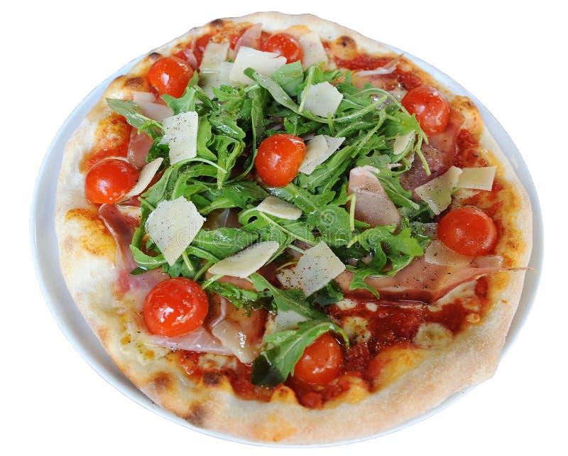 Pizza italiana real fotos de stock royalty free