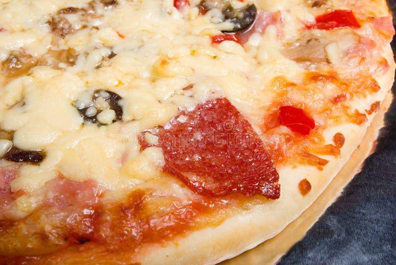 Pizza italiana saboroso imagens de stock