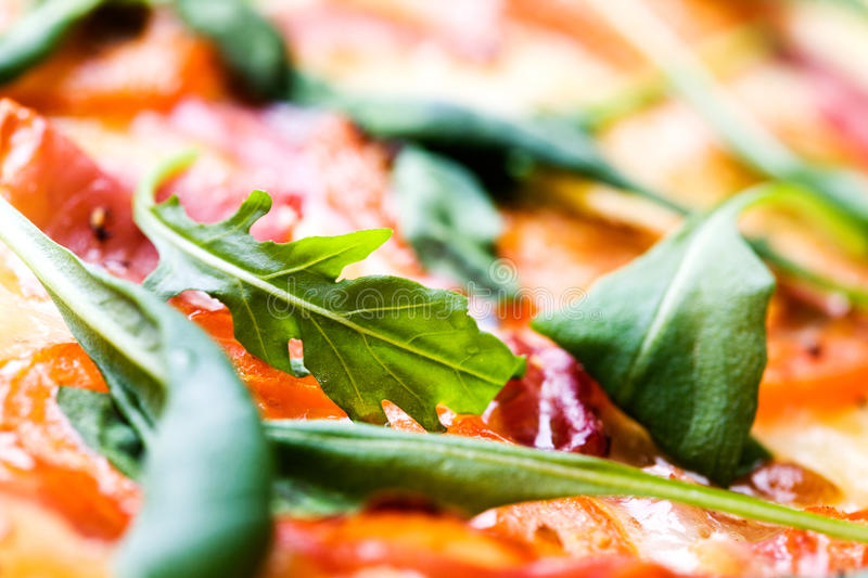 Pizza italienne photographie stock