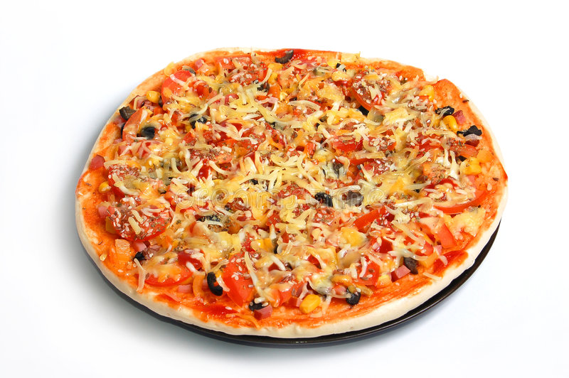 Pizza italienne image libre de droits