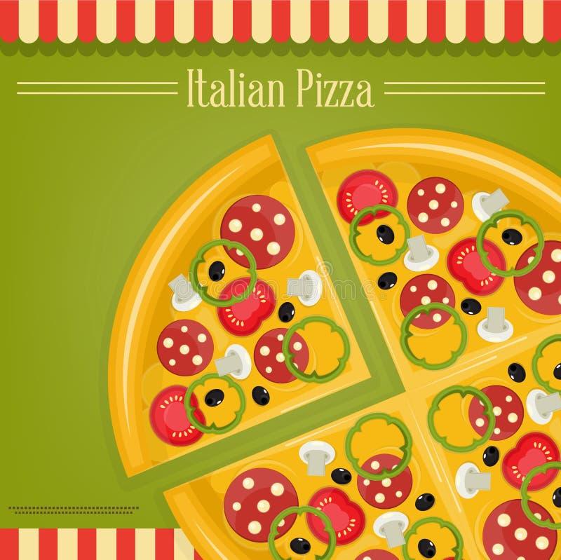 Pizza italienne illustration libre de droits