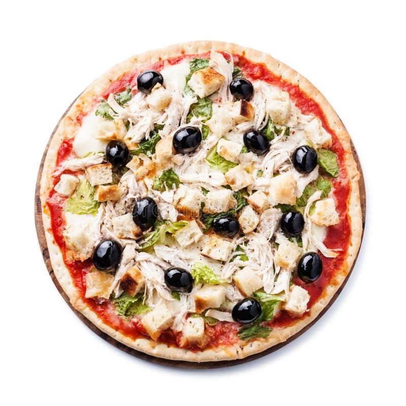 Pizza italienne César image stock