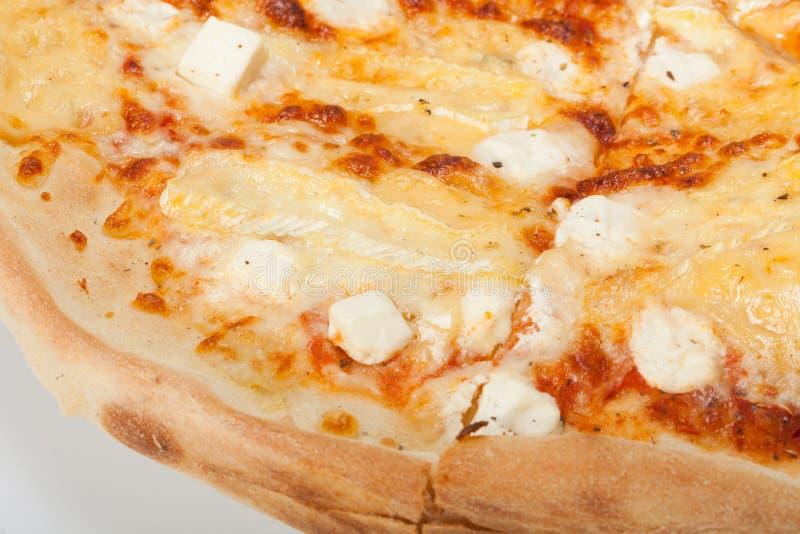 Pizza italienne délicieuse image libre de droits