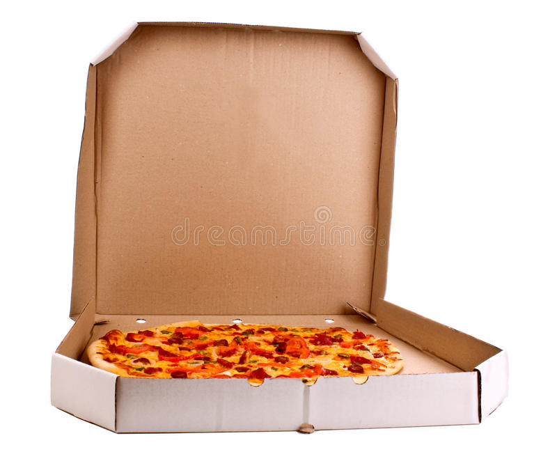 Pizza italienne savoureuse images stock