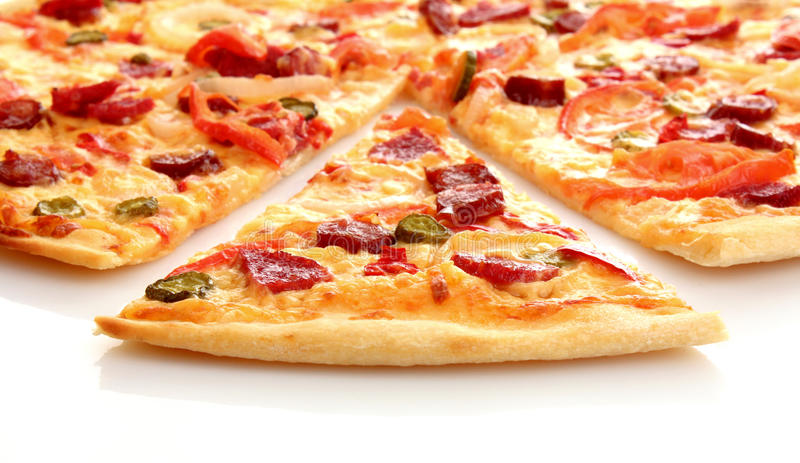 Pizza italienne savoureuse photo stock
