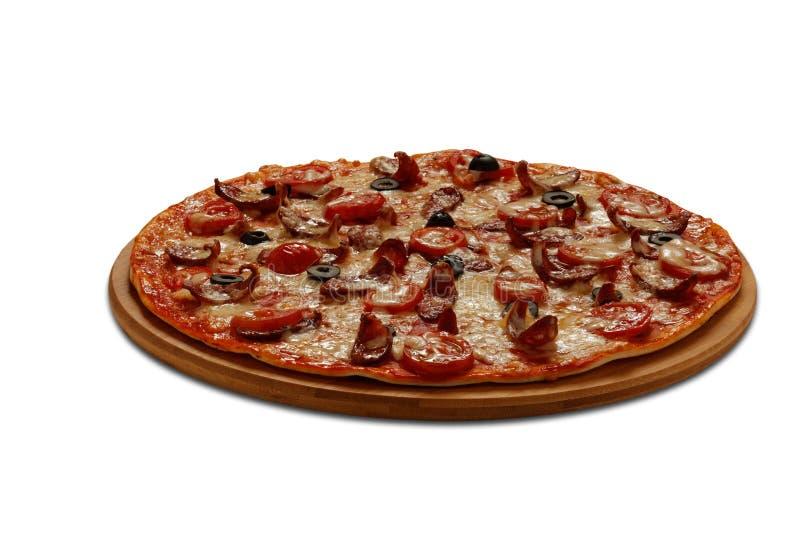Pizza-Jäger stockfotografie
