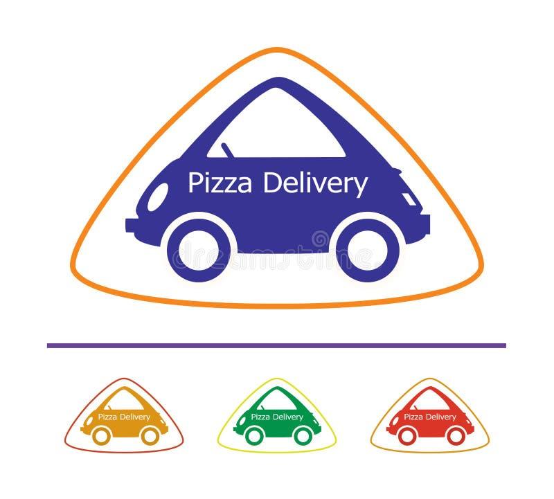 Pizza-Lieferung - 14 lizenzfreie abbildung