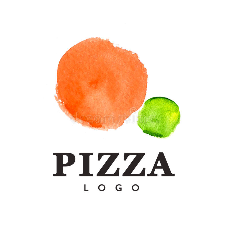 Pizza loga szablon ilustracja wektor