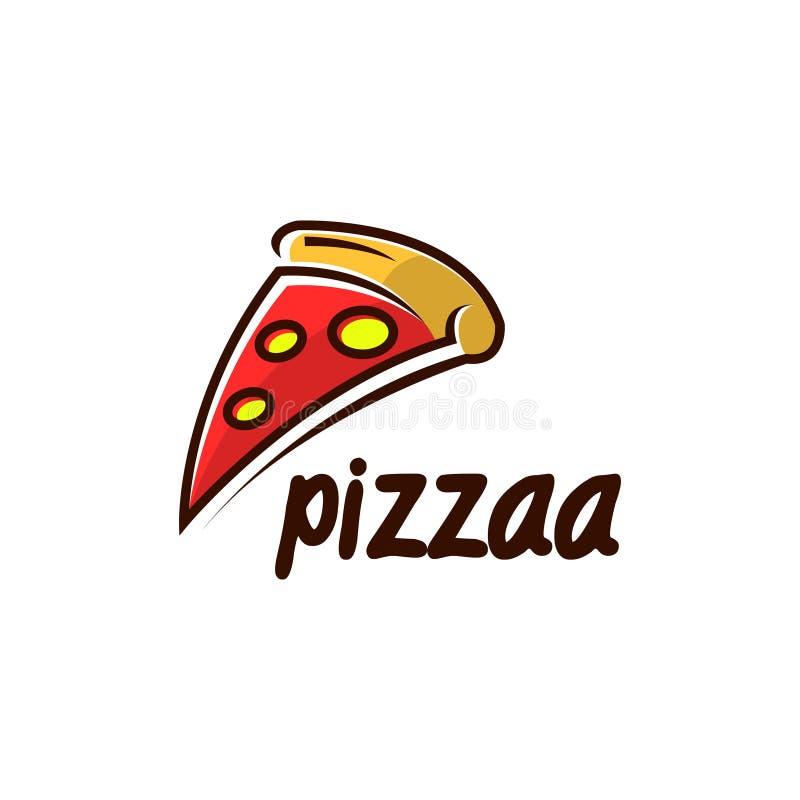 Pizza loga wektoru sztuka Loga szablon