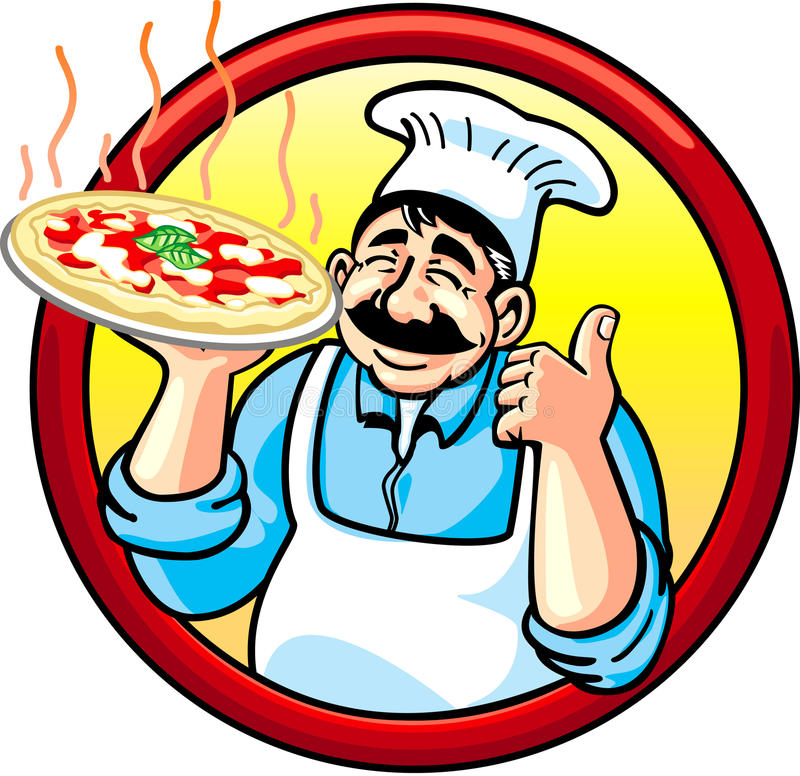 Download Pizza Man Royalty Free Stock Images - Image: 13342079