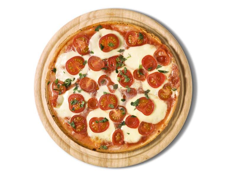 Pizza Margarita royalty-vrije stock foto