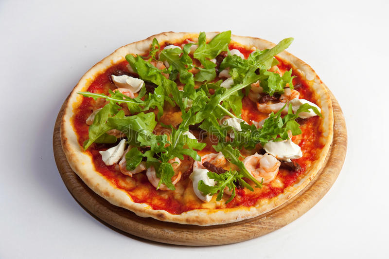 Pizza margarita royalty free stock image